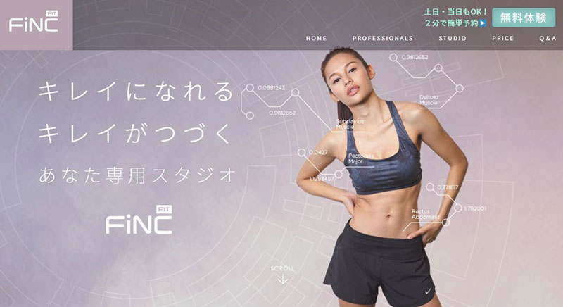 FiNC Fit【東京都内の店舗】