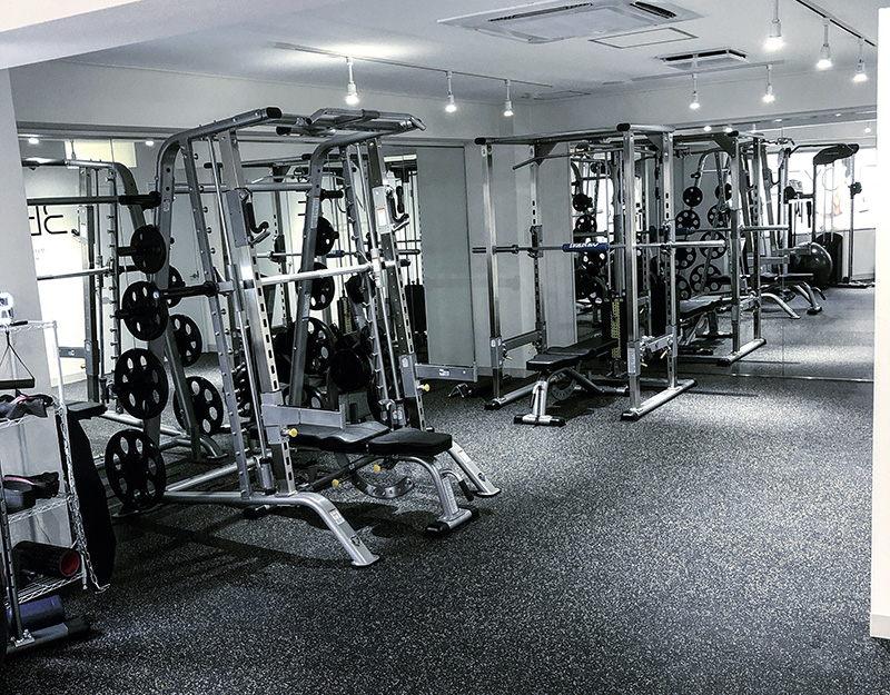 BEYOND錦糸町店のトレーニングスペース