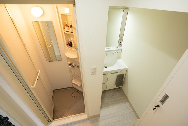 BEYOND錦糸町店のシャワー室