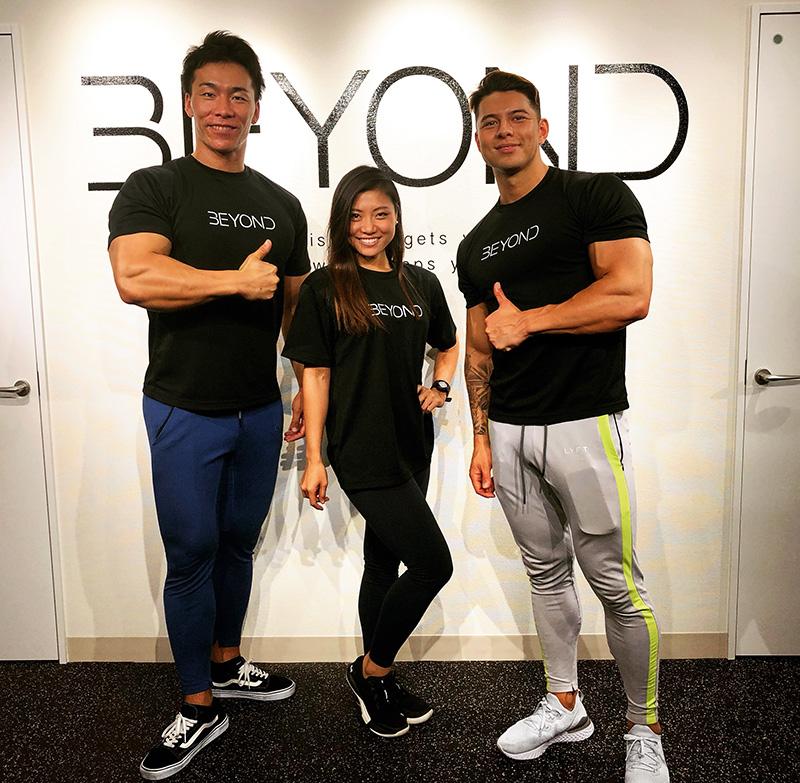 BEYOND錦糸町店のトレーナー写真