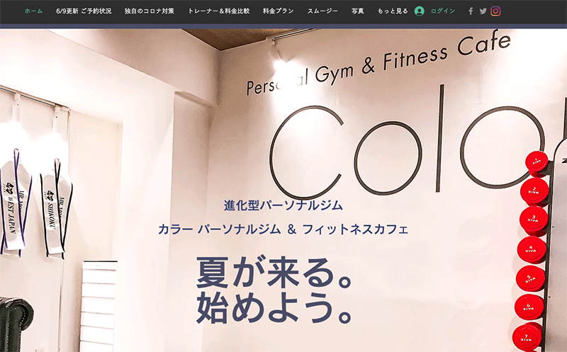 Color Personal Gym